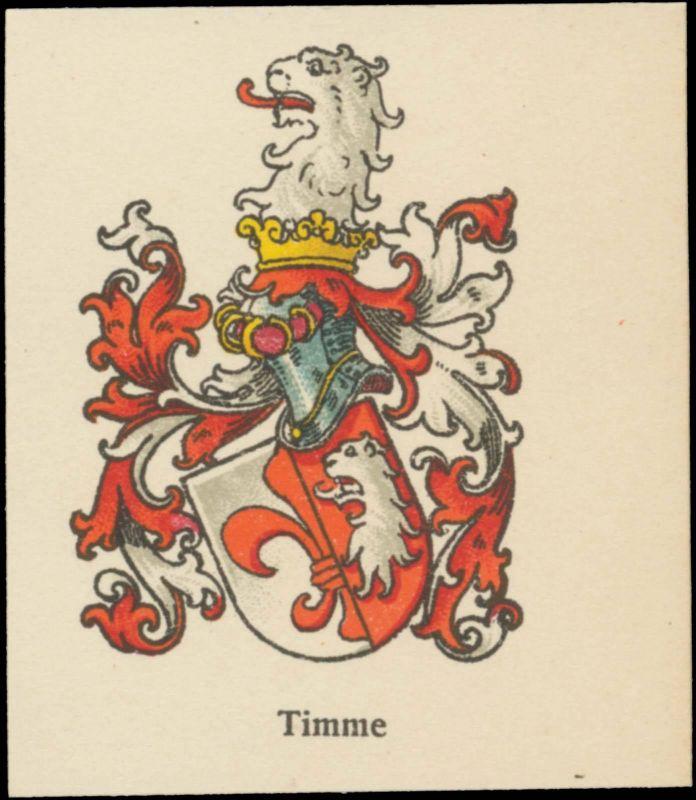 Timme Wappen
