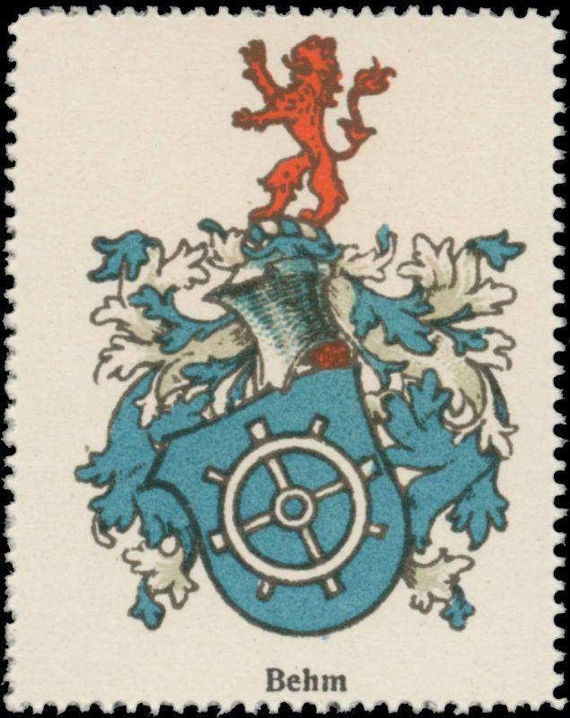 Behm Wappen