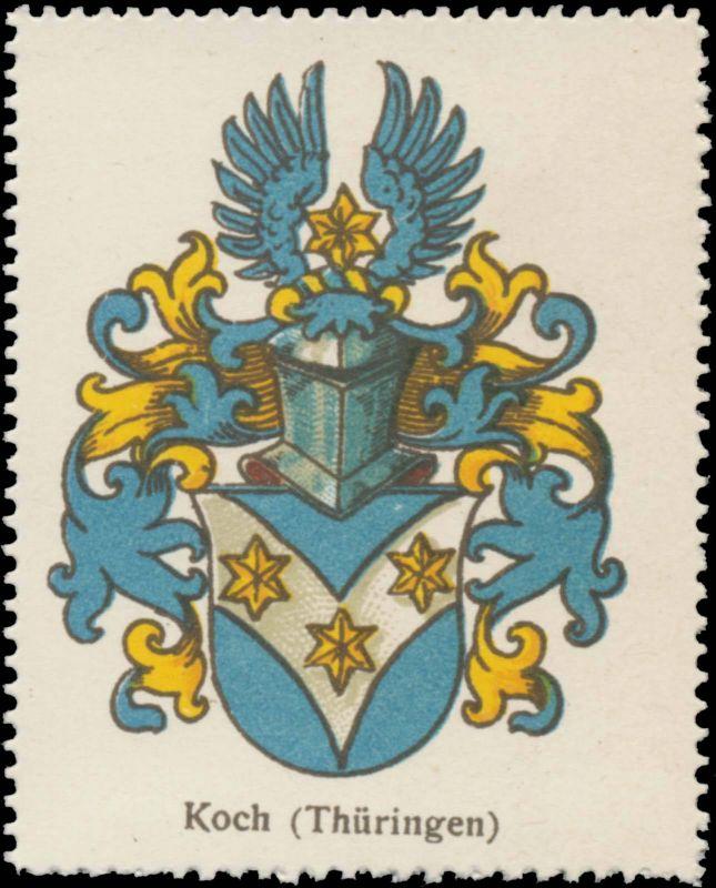 Koch (Thüringen) Wappen