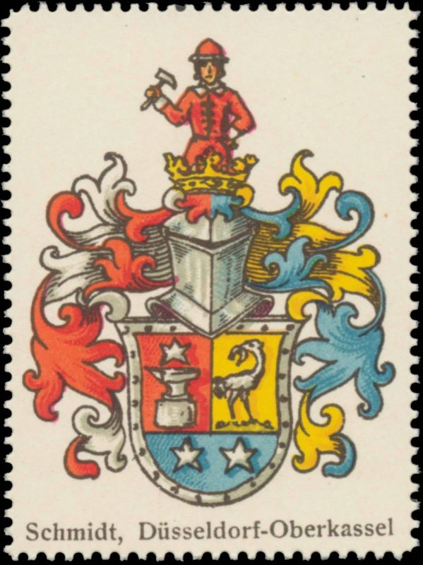 Schmidt (Düsseldorf, Oberkassel) Wappen