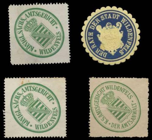 Wildenfels Sammlung Siegelmarken