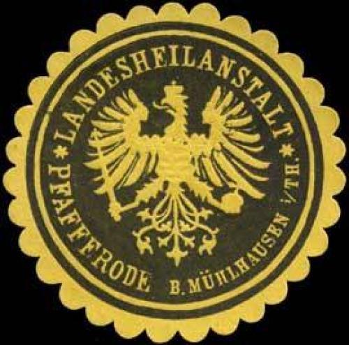 Landesheilanstalt-Pfafferode bei Mühlhausen in Thüringen