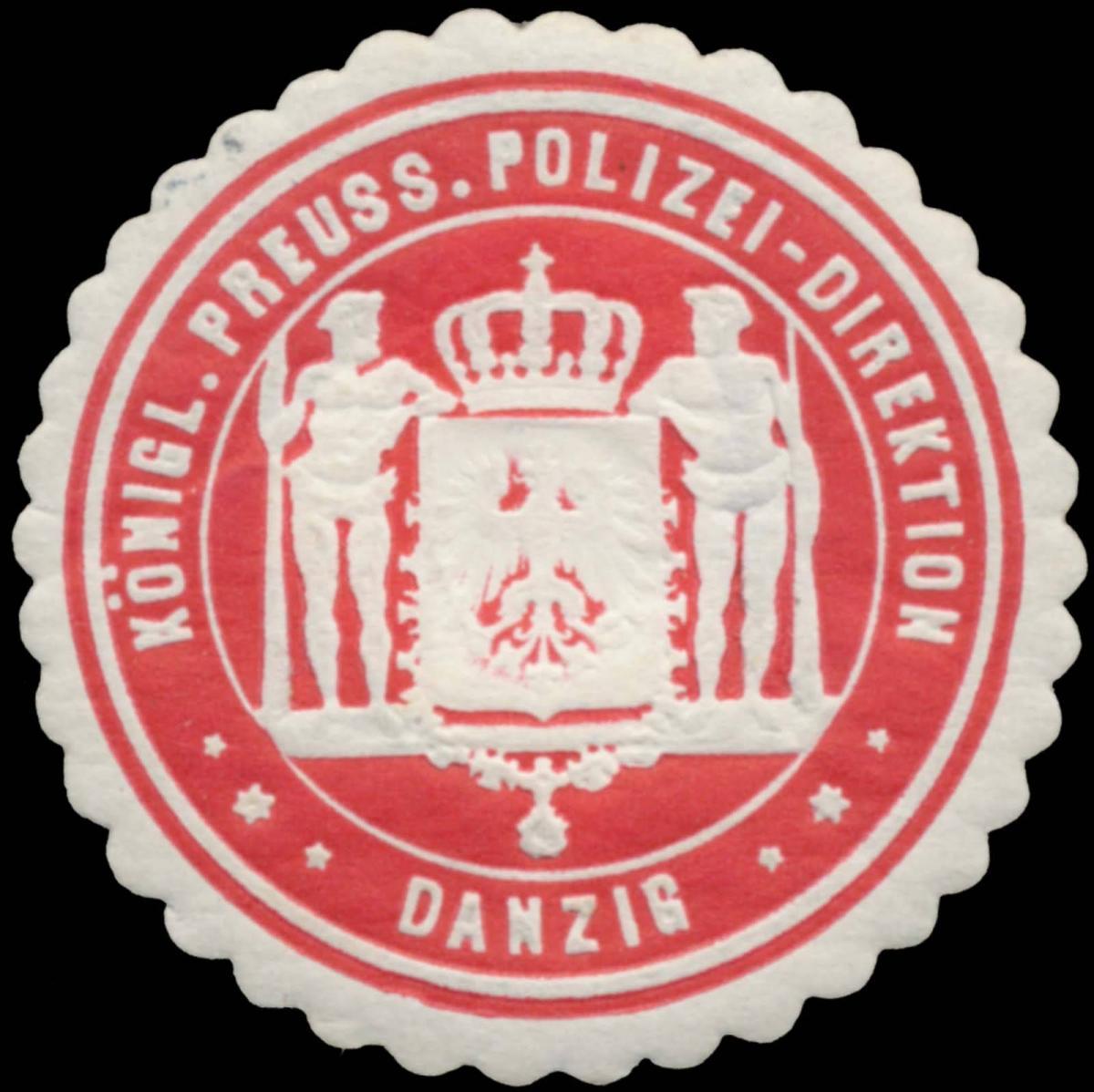 K.Pr. Polizei-Direktion Danzig