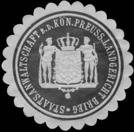 Staatsanwaltschaft bei dem K.Pr. Landgericht Brieg
