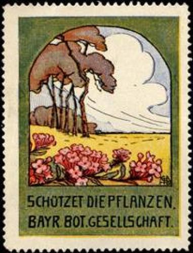 Schützet die Pflanzen in Bayern