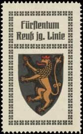 Fürstentum Reuß jüngere Linie Wappen