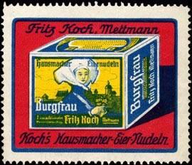 Kochs Hausmacher - Eiernudeln Burgfrau