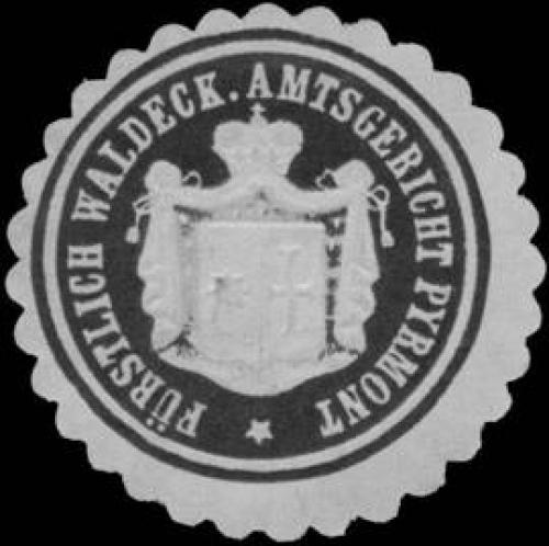 Fürstlich Waldeck. Amtsgericht Pyrmont