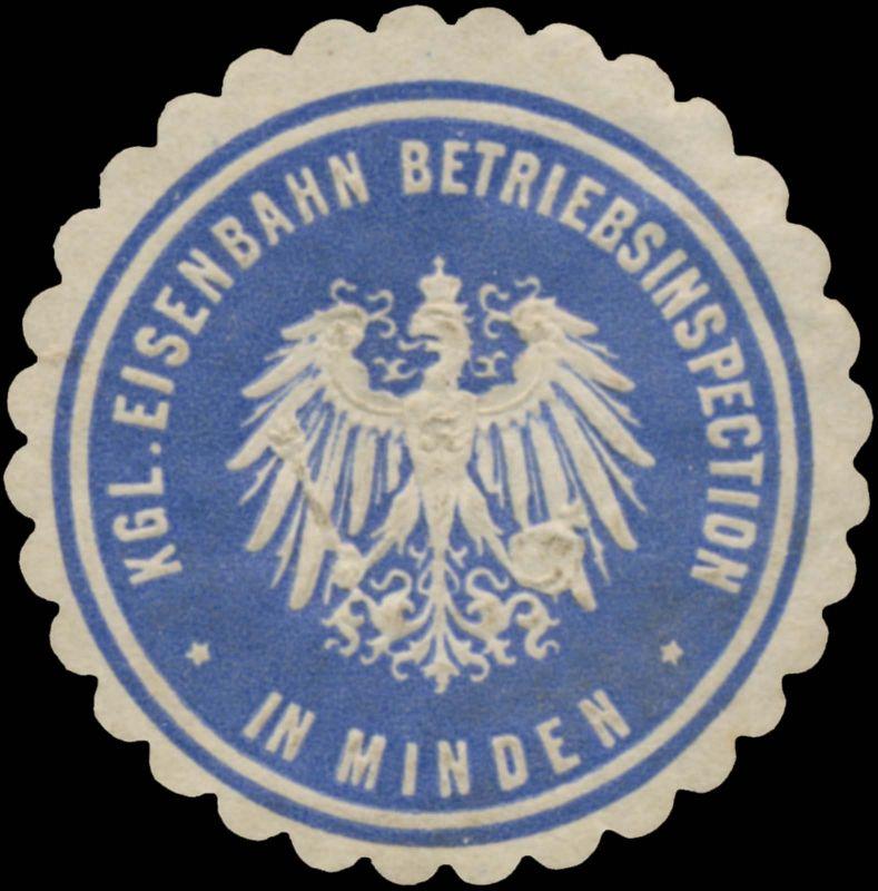 K. Eisenbahn Betriebsinspection in Minden