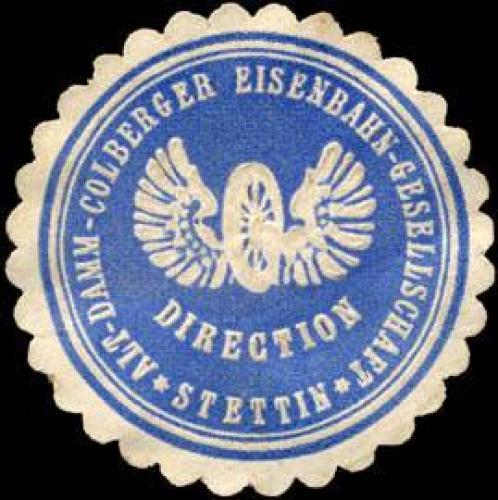 Direction Alt - Damm - Colberger Eisenbahn - Gesellschaft - Stettin