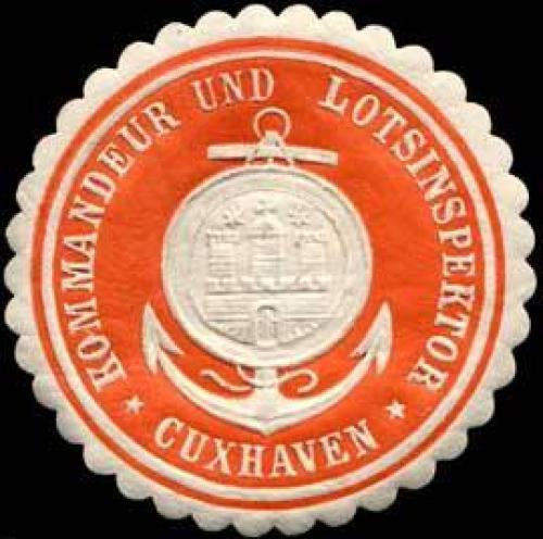 Kommandeur und Lotsinspektor-Cuxhaven