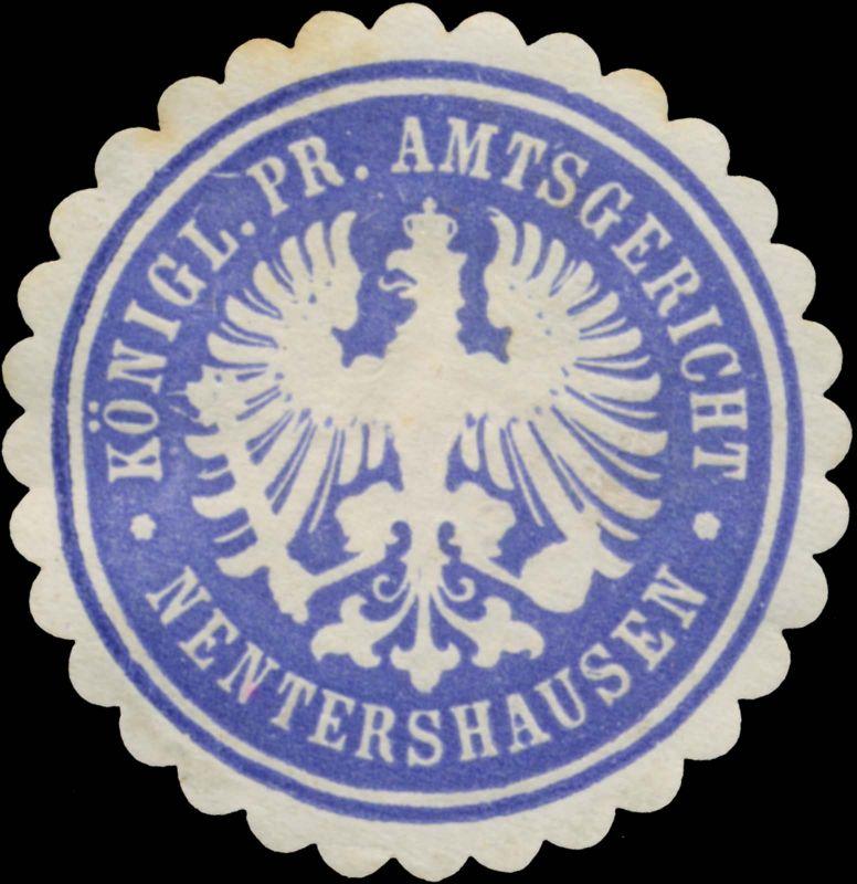 K.Pr. Amtsgericht Nentershausen
