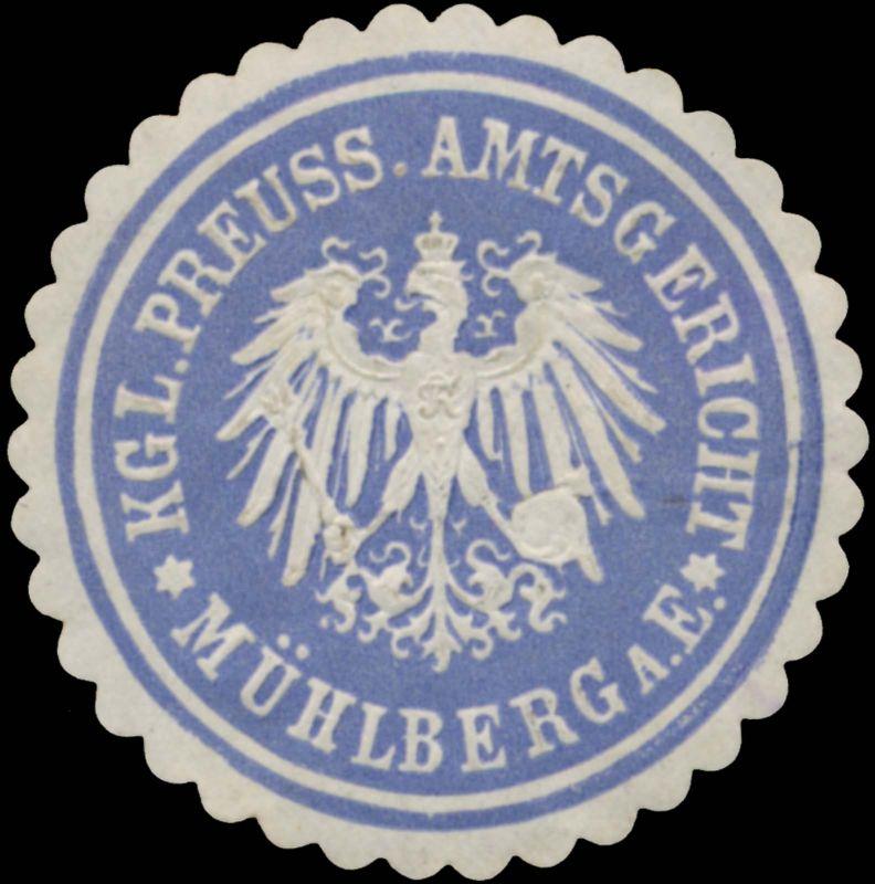 K.Pr. Amtsgericht Mühlberg an der Elbe