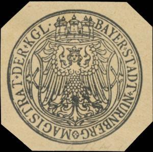 Magistrat der Kgl. Bayer. Stadt Nürnberg