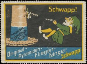 Original-Pyramiden Fliegenfänger Schwapp