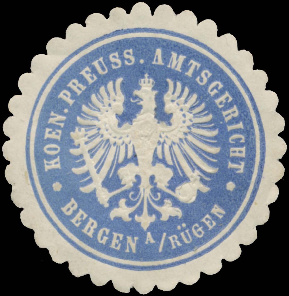 K.Pr. Amtsgericht Bergen auf Rügen