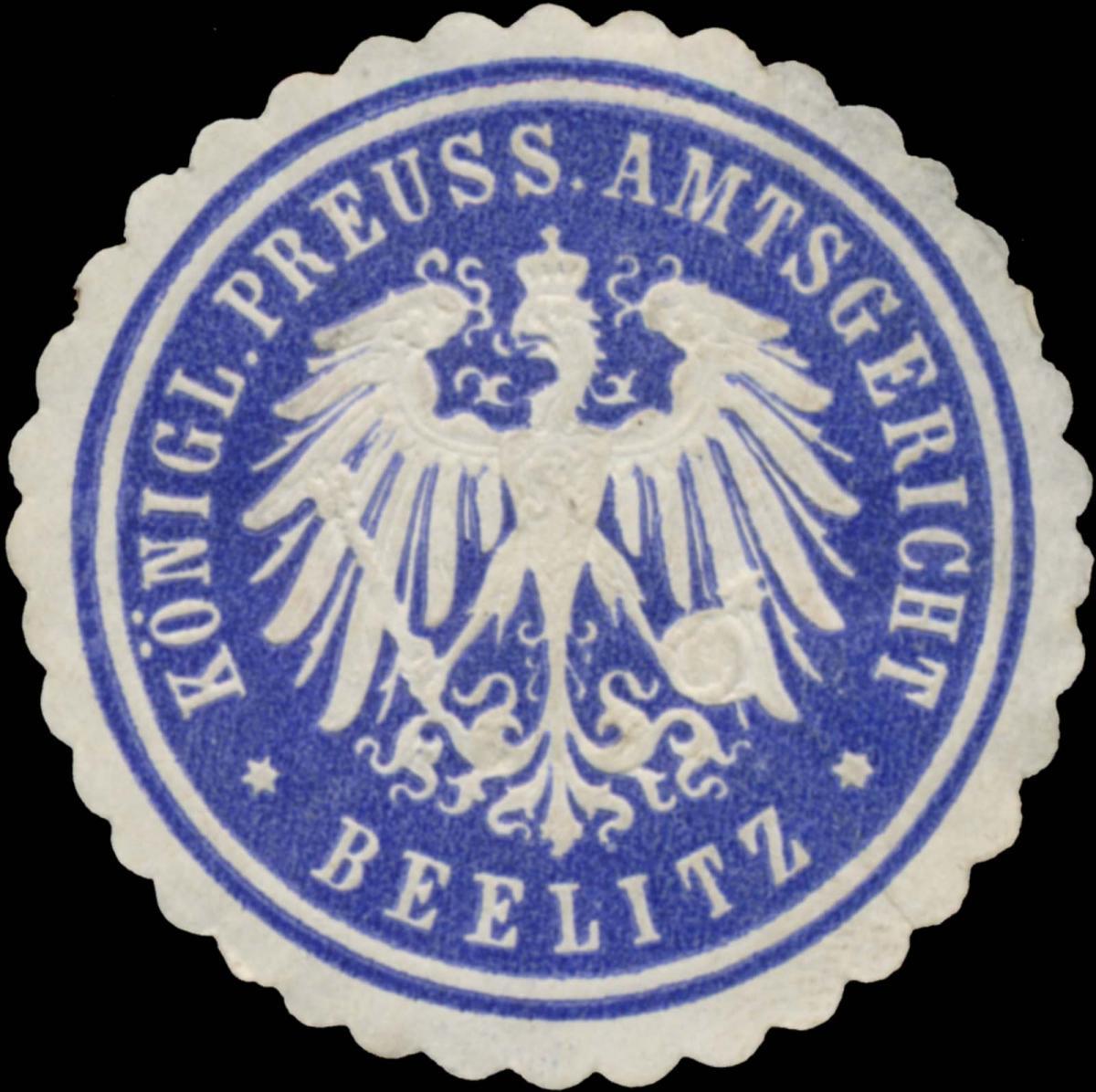 K.Pr. Amtsgericht Beelitz