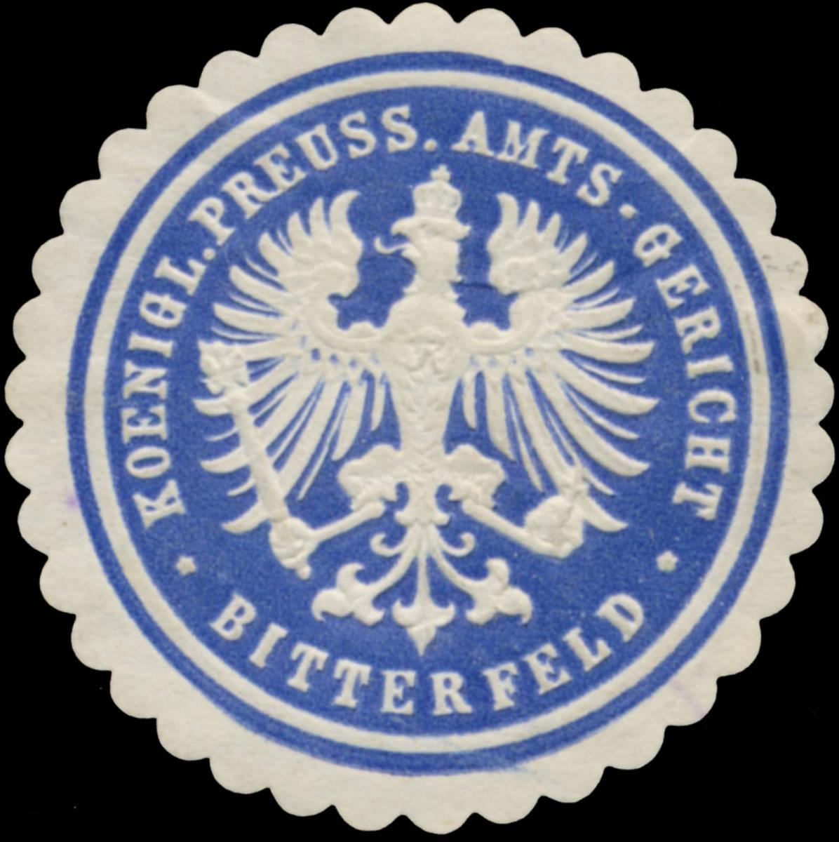 K.Pr. Amtsgericht Bitterfeld