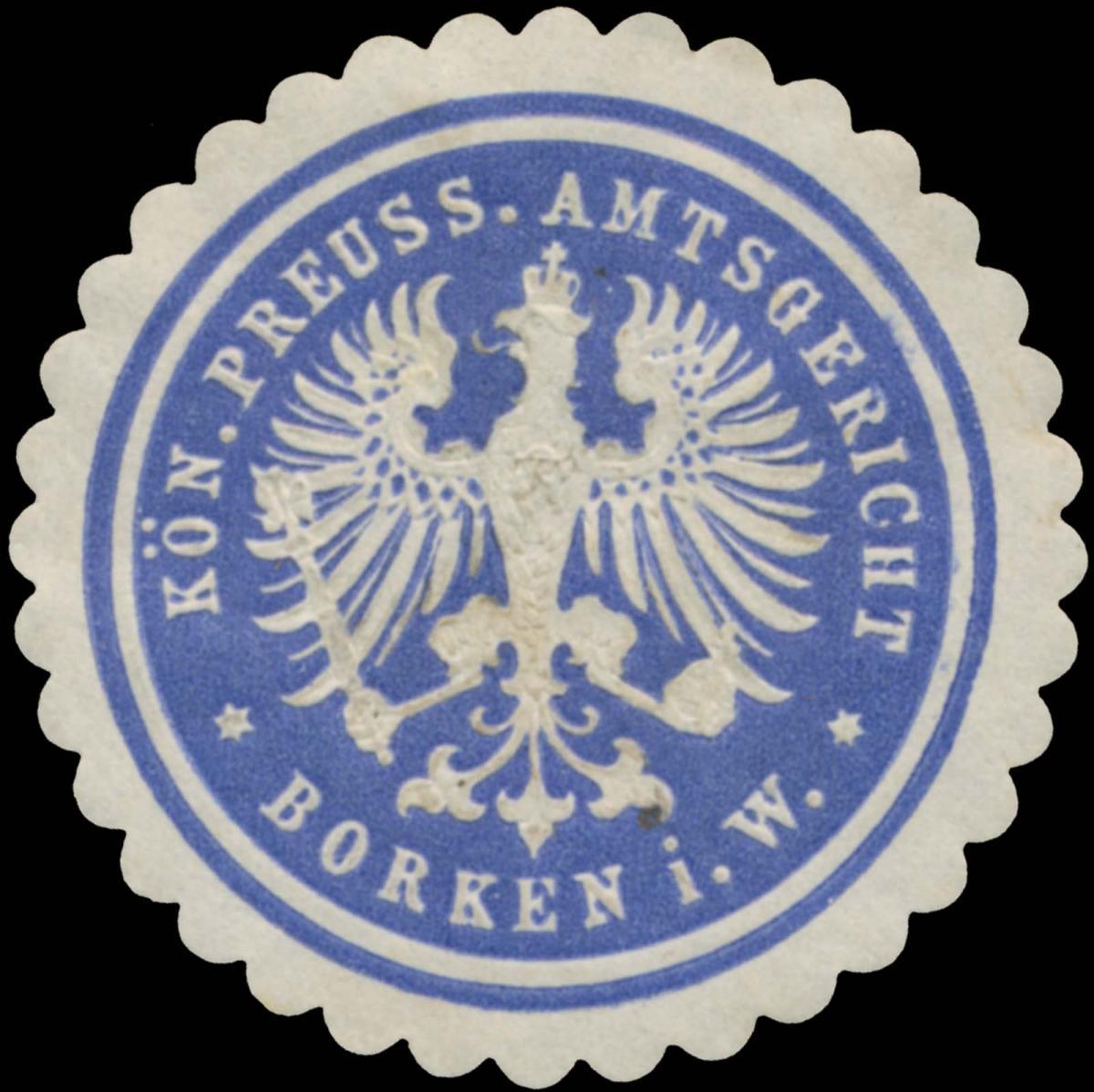 K.Pr. Amtsgericht Borken i.W.