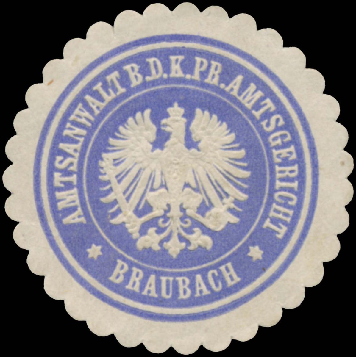 Amtsanwalt b.d. K.Pr. Amtsgericht Braubach