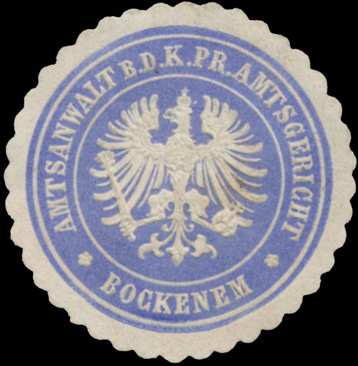 Amtsanwalt b.d. K.Pr. Amtsgericht Bockenem