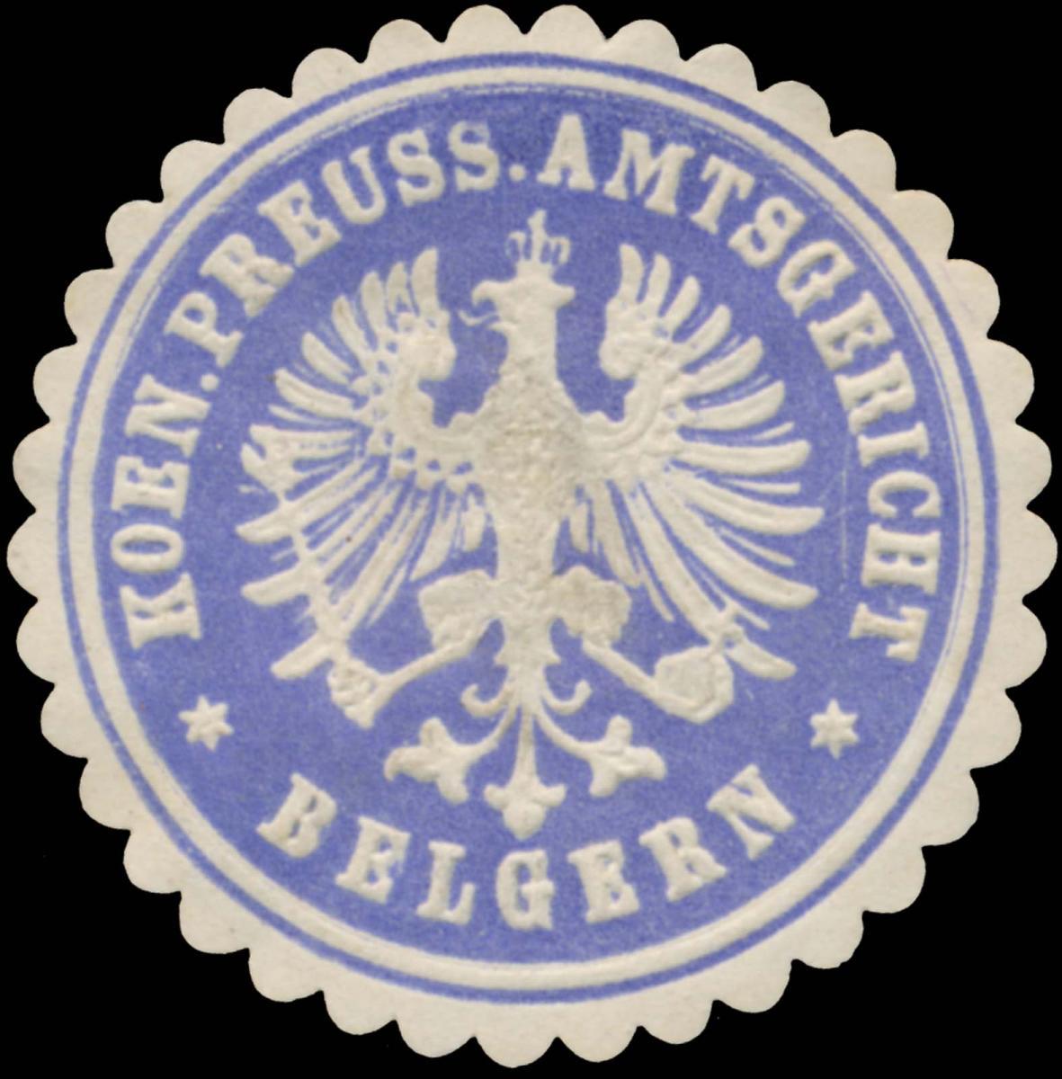 K.Pr. Amtsgericht Belgern