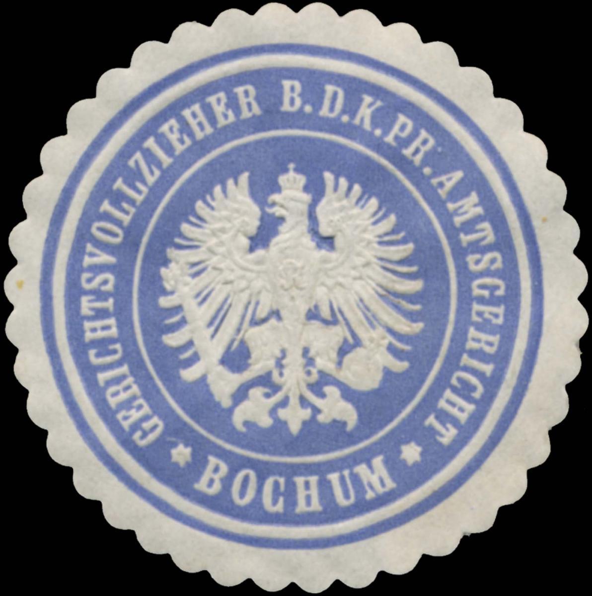 Gerichtsvollzieher b.d. K.Pr. Amtsgericht Bochum