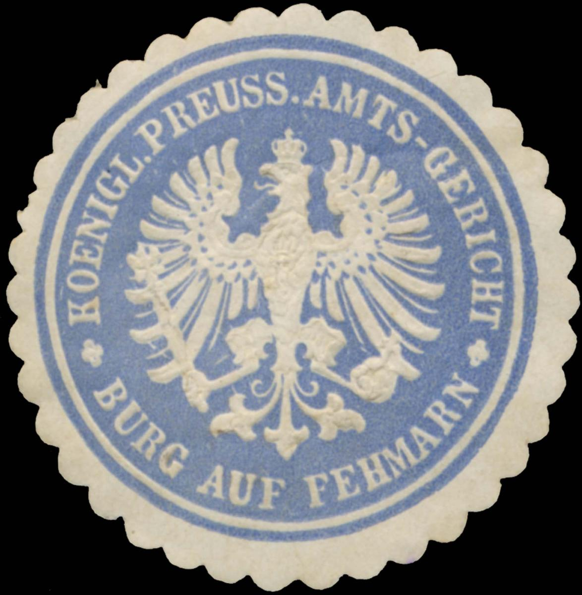 K.Pr. Amtsgericht Burg auf Fehmarn