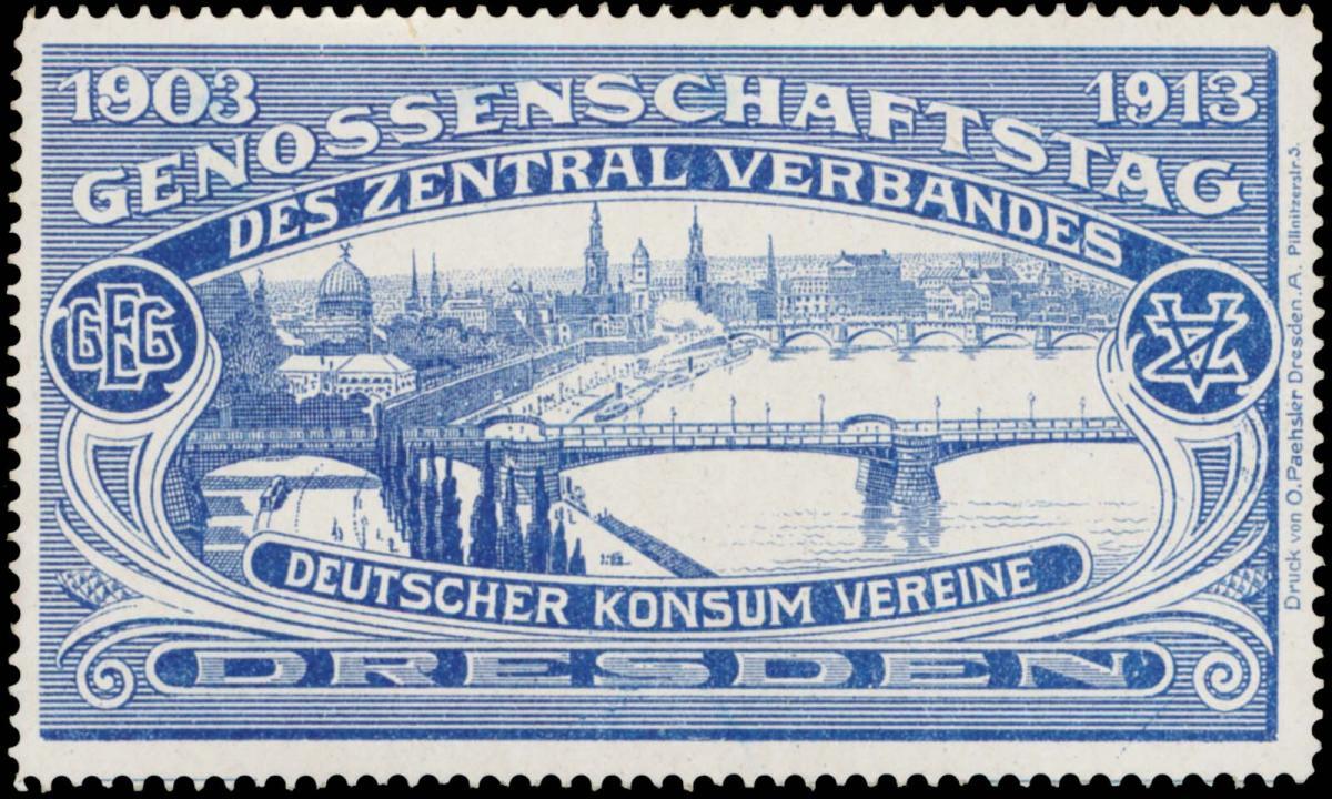 Genossenschaftstag des Zentralverbandes deutscher Konsum Vereine