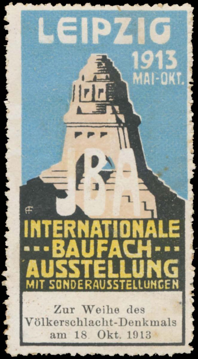 Zur Weihe des Völkerschlachtdenkmals am 18. Oktober 1913
