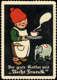 Der gute Kaffee mit Aecht Franck