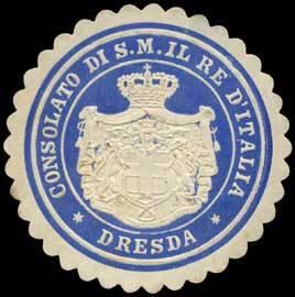 Consolato di S.M. il re d'Italia - Dresda