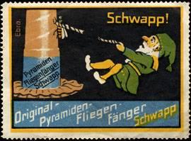 Original - Pyramiden - Fliegenfänger Schwapp