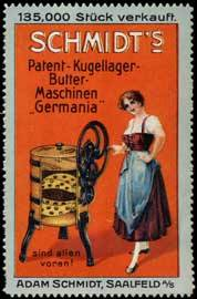 Schmidts Butter-Maschinen Germania