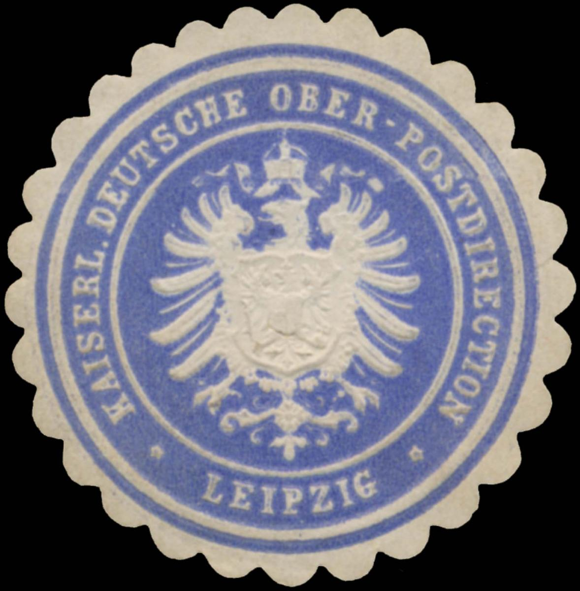 K. Deutsche Ober-Postdirection Leipzig
