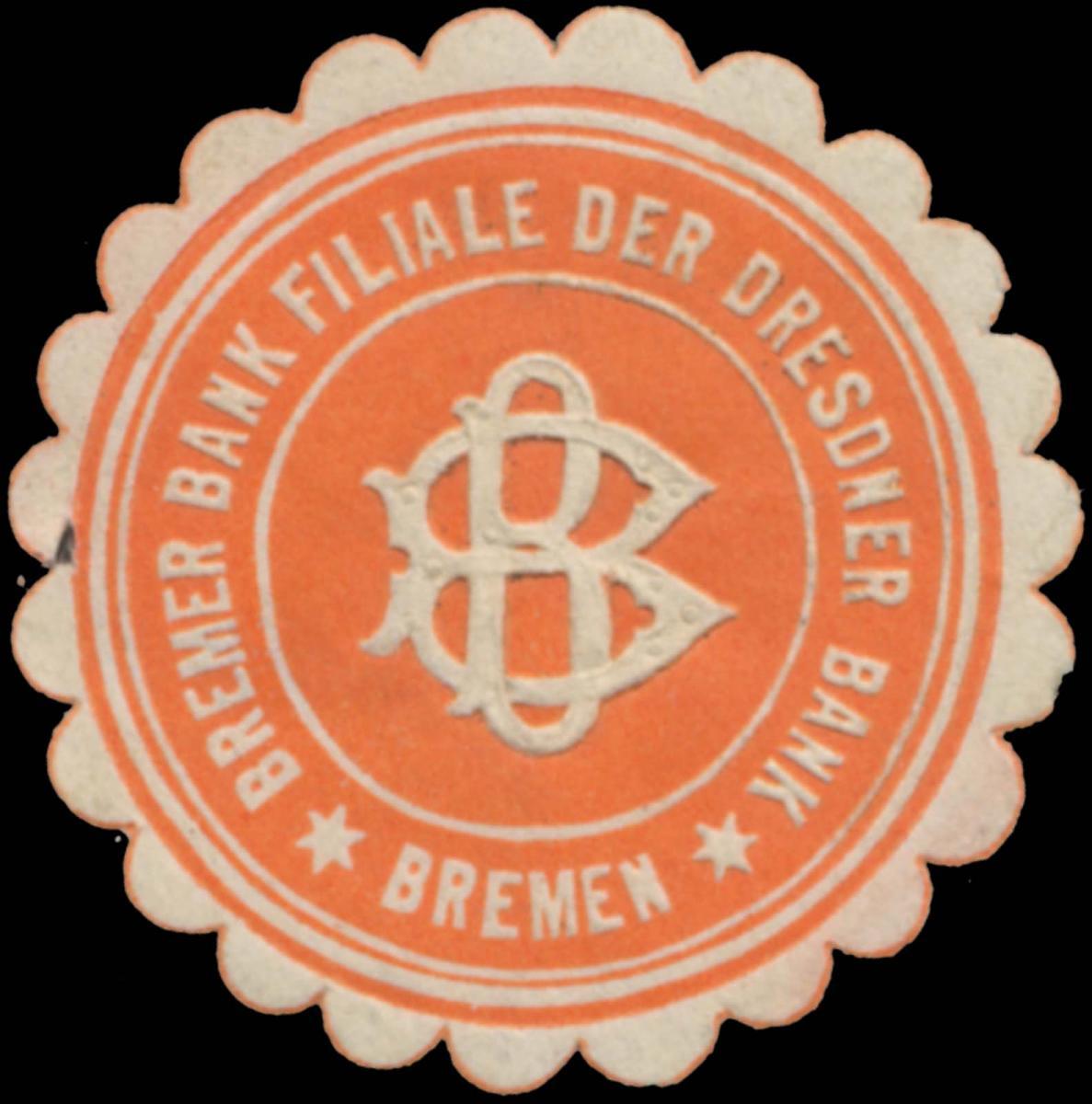 Bremer Bank Filiale der Dresdner Bank