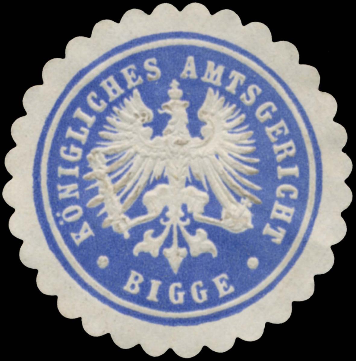 K. Amtsgericht Bigge