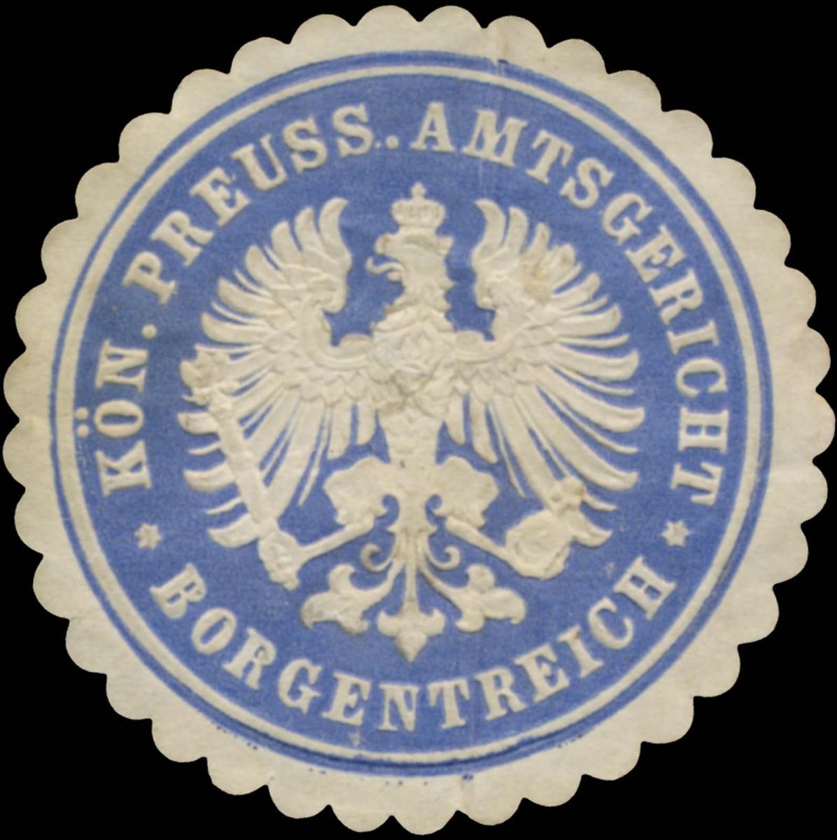 K.Pr. Amtsgericht Borgentreich