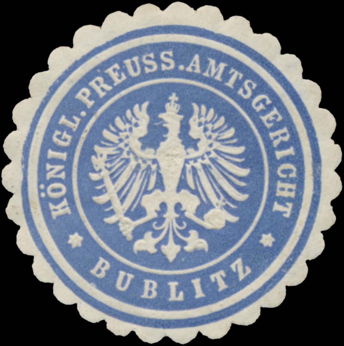 K.Pr. Amtsgericht Bublitz
