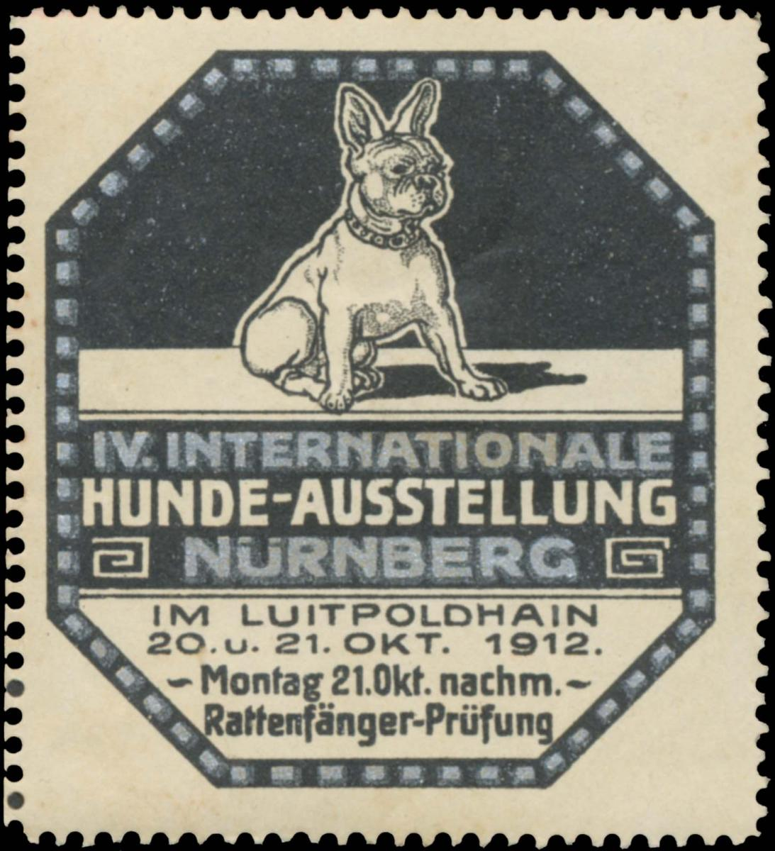 IV. Internationale Hunde-Ausstellung