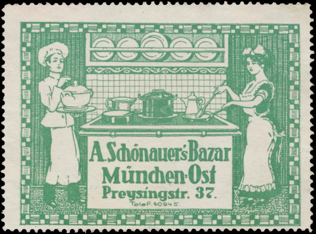 A. Schönauers Bazar