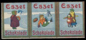 Eszet Schokolade Sammlung