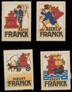 Aecht Franck Kaffeezusatz Sammlung