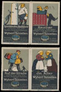 Wybert Tabletten Sammlung