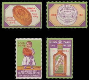 Myrrholin Mundwasser & Zahnwasser Sammlung