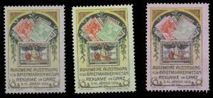 Ausstellung Briefmarken & Reklame in Graz