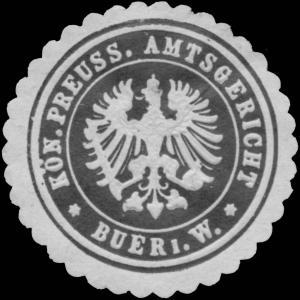 K.Pr. Amtsgericht Buer i.W.