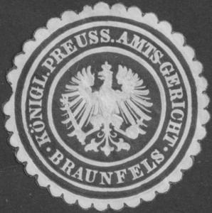 K.Pr. Amtsgericht Braunfels