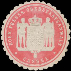 K.Pr. Oberstaatsanwalt Kassel