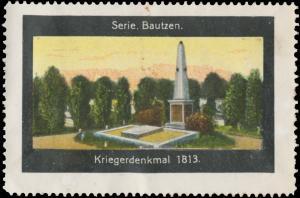 Kriegerdenkmal 1813